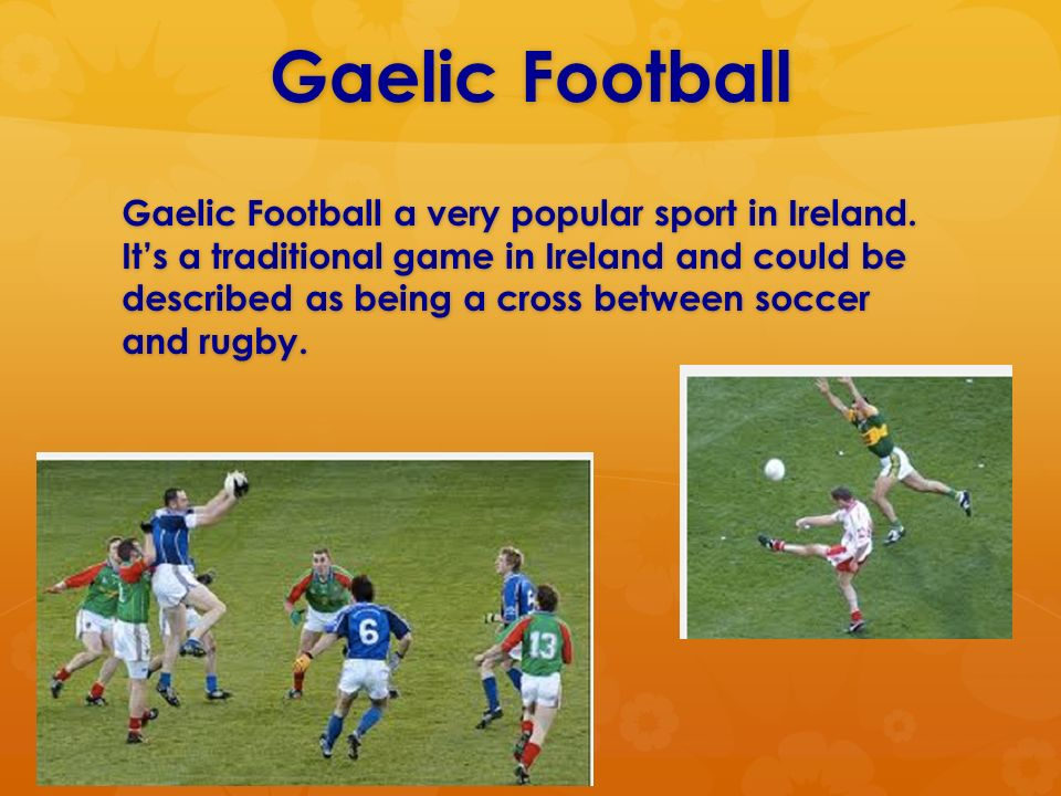 c44ea9658550a Ireland Sports and Games. Irish Hurling Each player uses a wooden ...