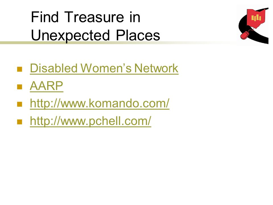 Find Treasure in Unexpected Places Disabled Women's Network AARP