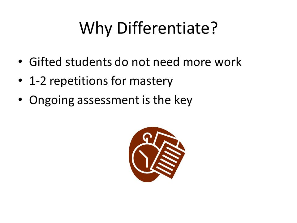 Differentiated Instruction For Gifted Students Mahanoy Area