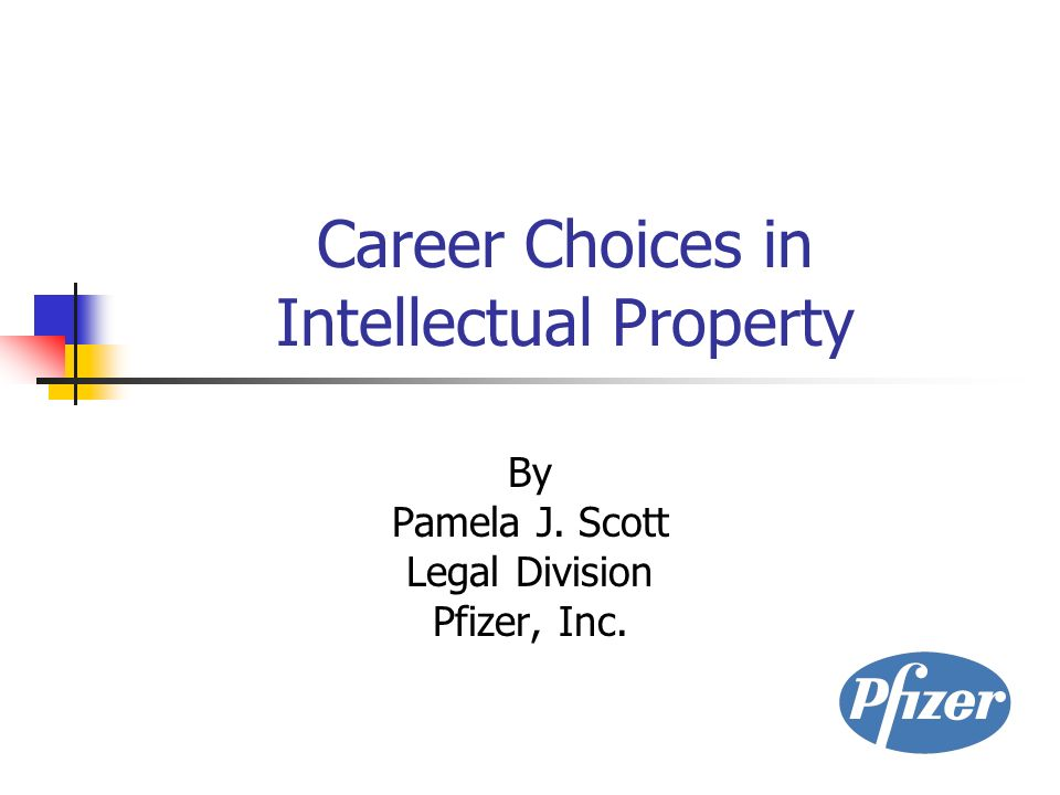 Career Choices in Intellectual Property By Pamela J  Scott