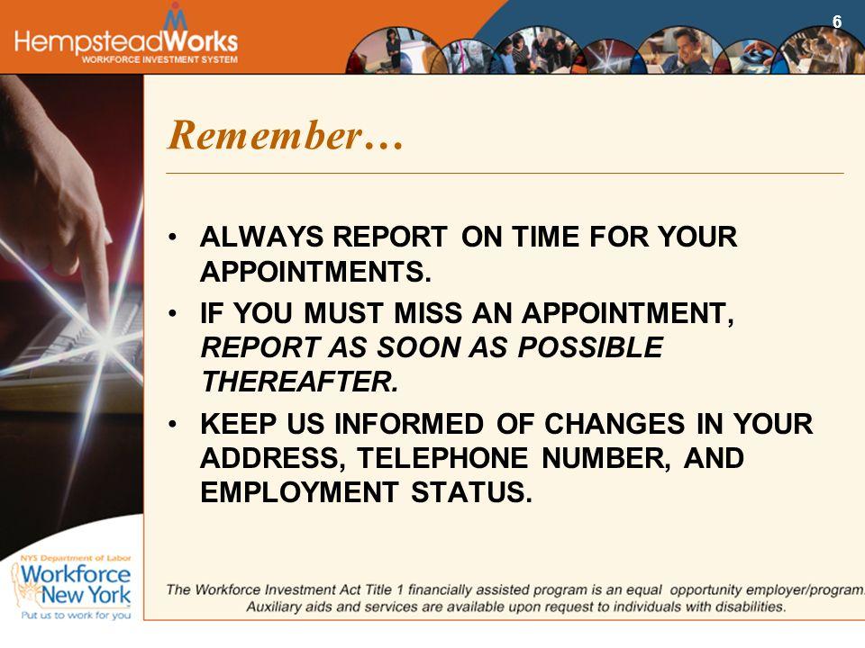 Workforce telephone number