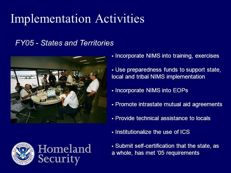National Incident Management System Homeland Security Presidential