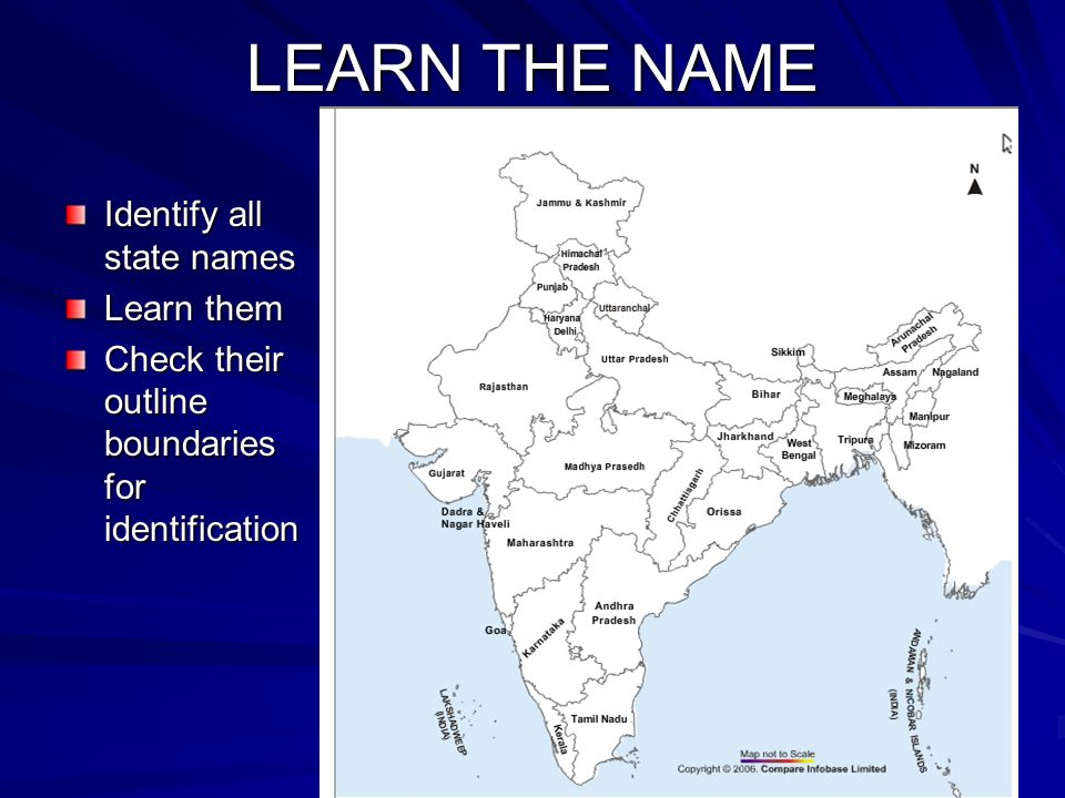 INDIA MAP ACTIVITY