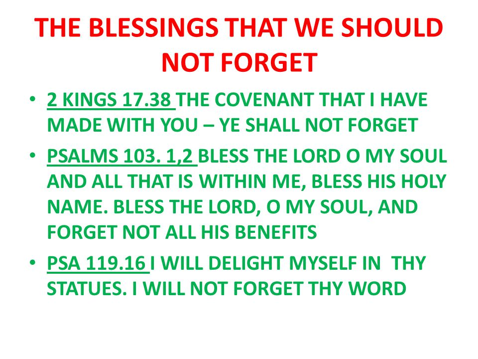 bible verses about being blessed