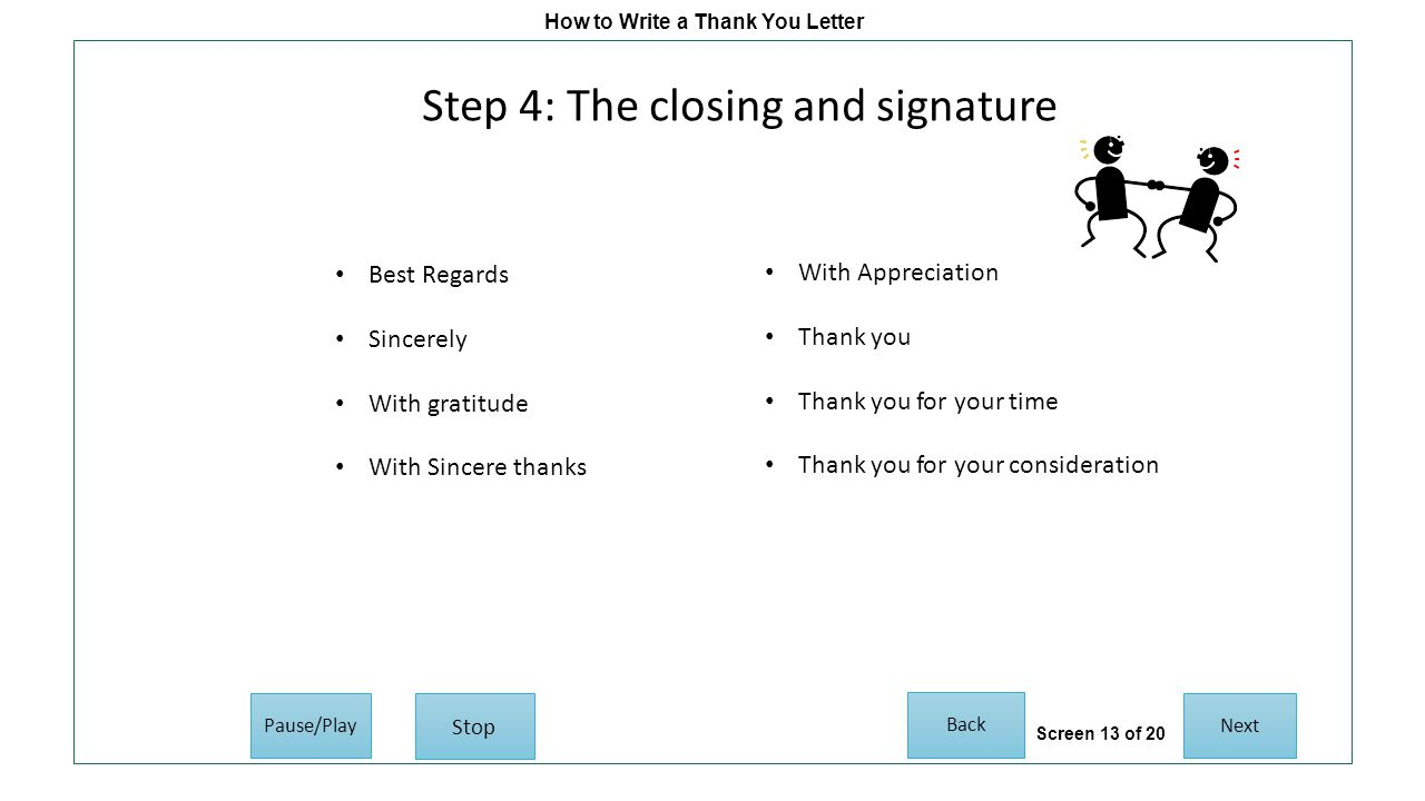 How to write a thank you letter post interview follow up copyright 13 how expocarfo Gallery