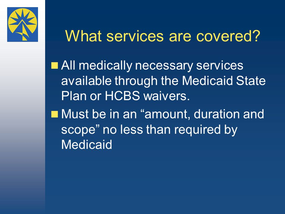 What services are covered.