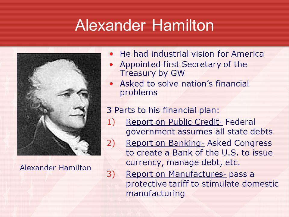 alexander hamiltons vision for america