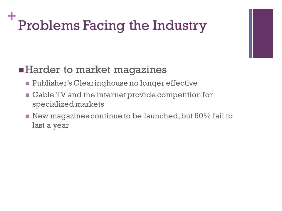 Introduction to Communications Media Ch5 Magazines  - ppt