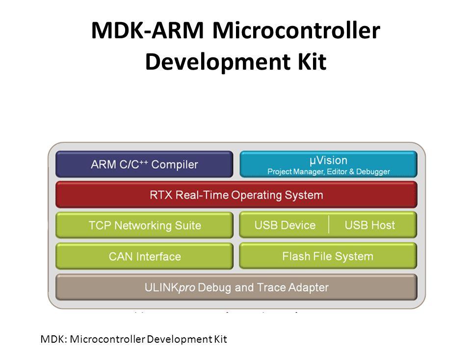 MDK-ARM Microcontroller Development Kit MDK: Microcontroller
