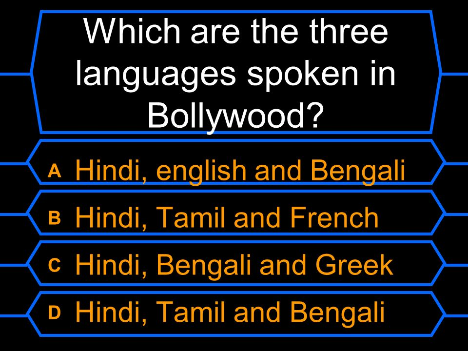 Who Wants To Be A Millionaire? INDIA Question ppt download