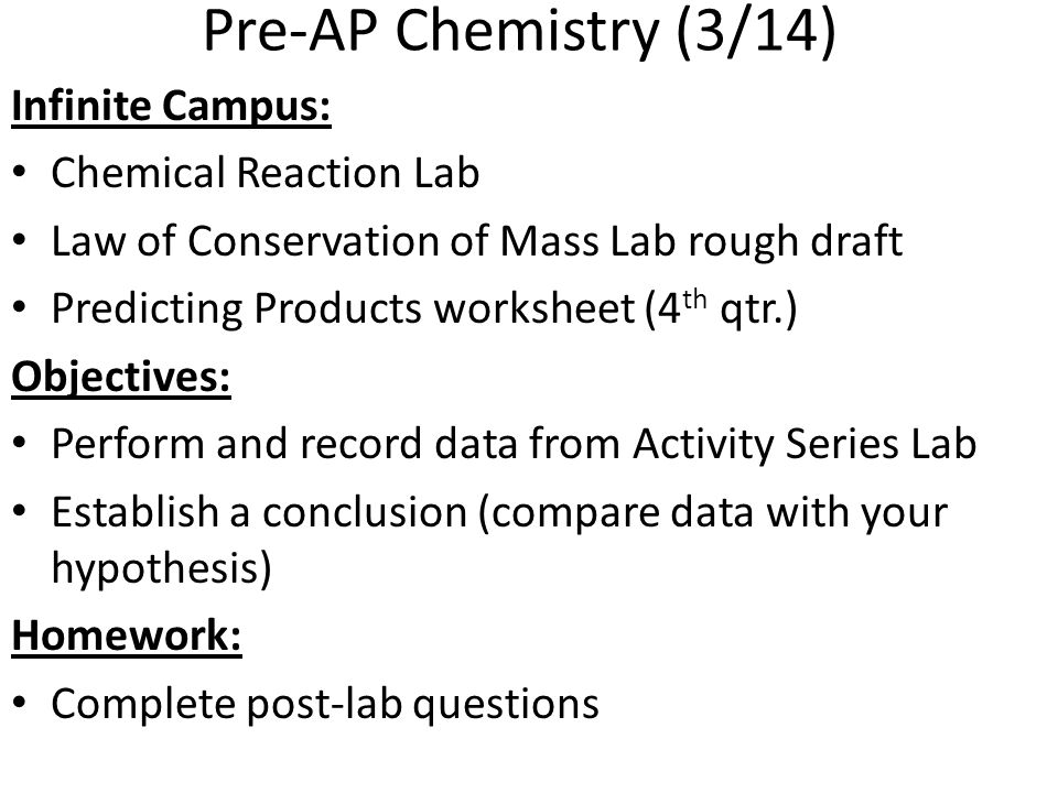 Chemical Reactions Chemical Reactions Study Guide Chpt 94 Acids