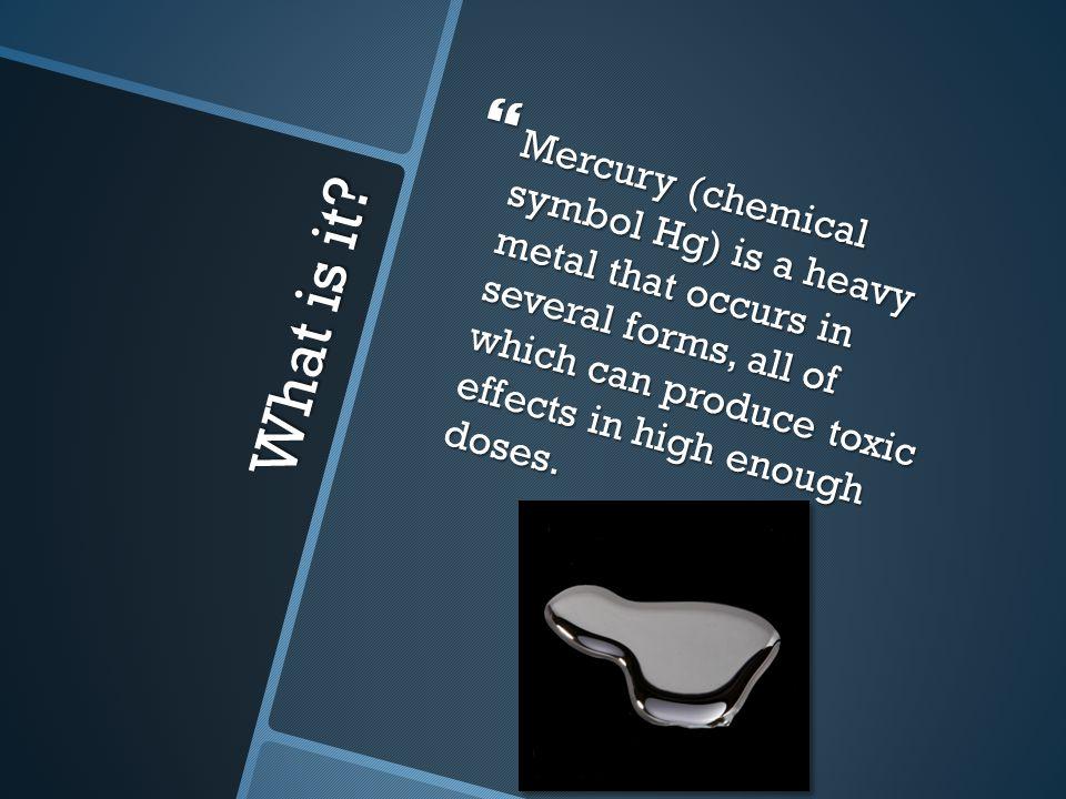 Mercury By Natalie Cotton Michelle Solsbery What Is It