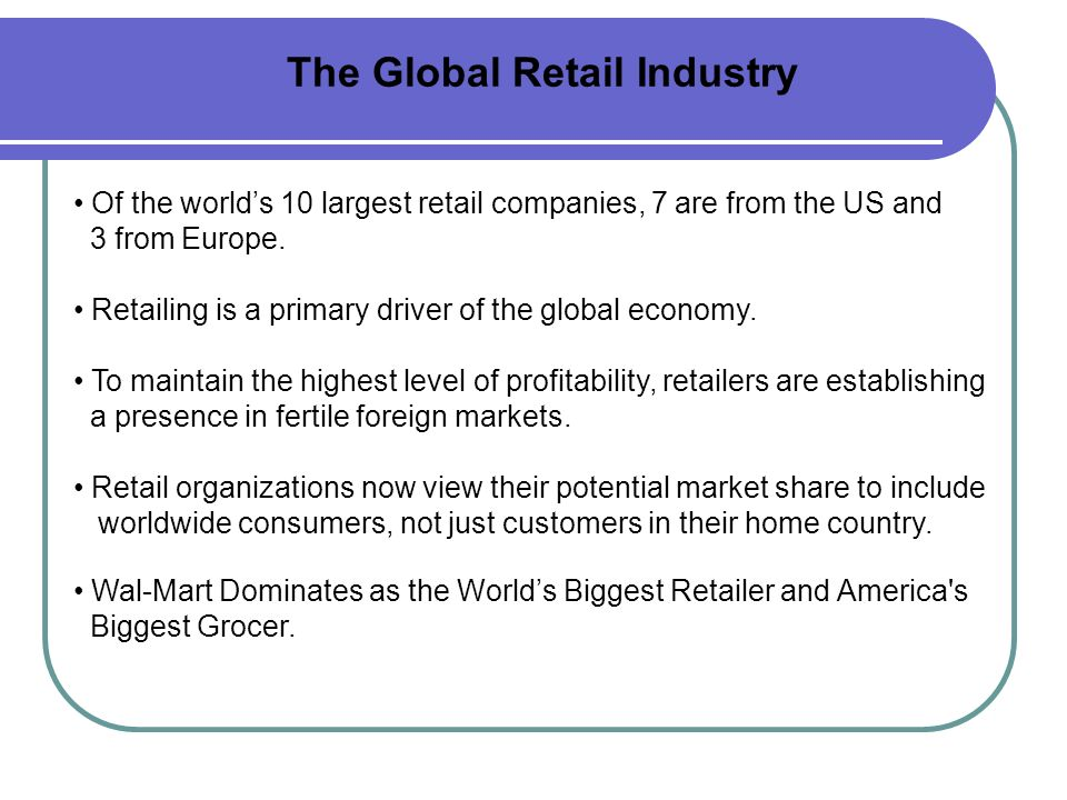 Global & Indian retail overview Presented by : Jwala Nayak