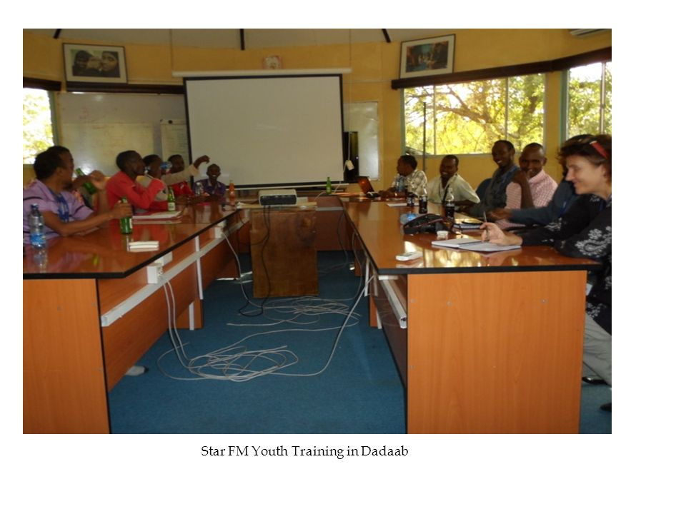 Star FM Youth Training in Dadaab