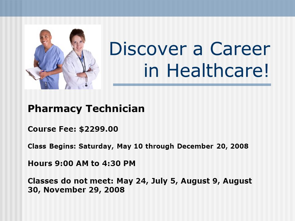 Health Career Training Programs A Partnership Between