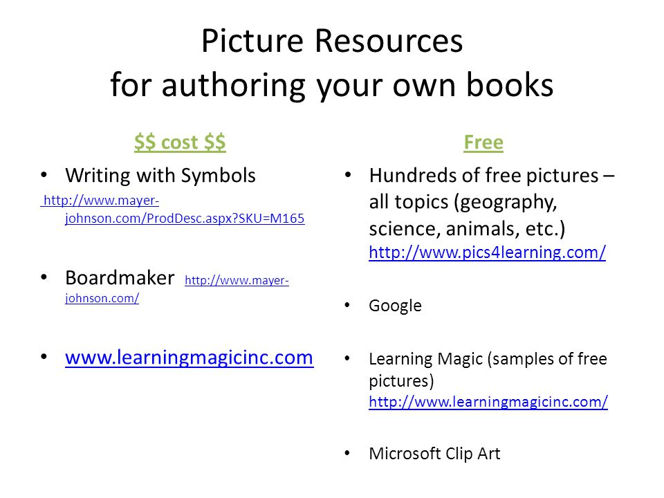 Literacy Resources For Students With Significant Cognitive