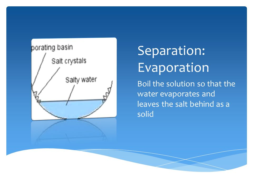 Salt And Water By Steph What Type Of Mixture Is Saltwater Saltwater Is A Homogeneous Mixture Because Only One Of The Two Types Of Particles Are Visible Ppt Download