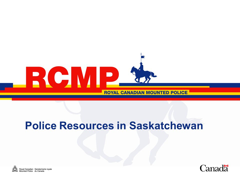1 Police Resources in Saskatchewan