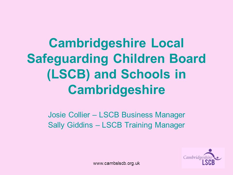 cambridgeshire lscb business plan