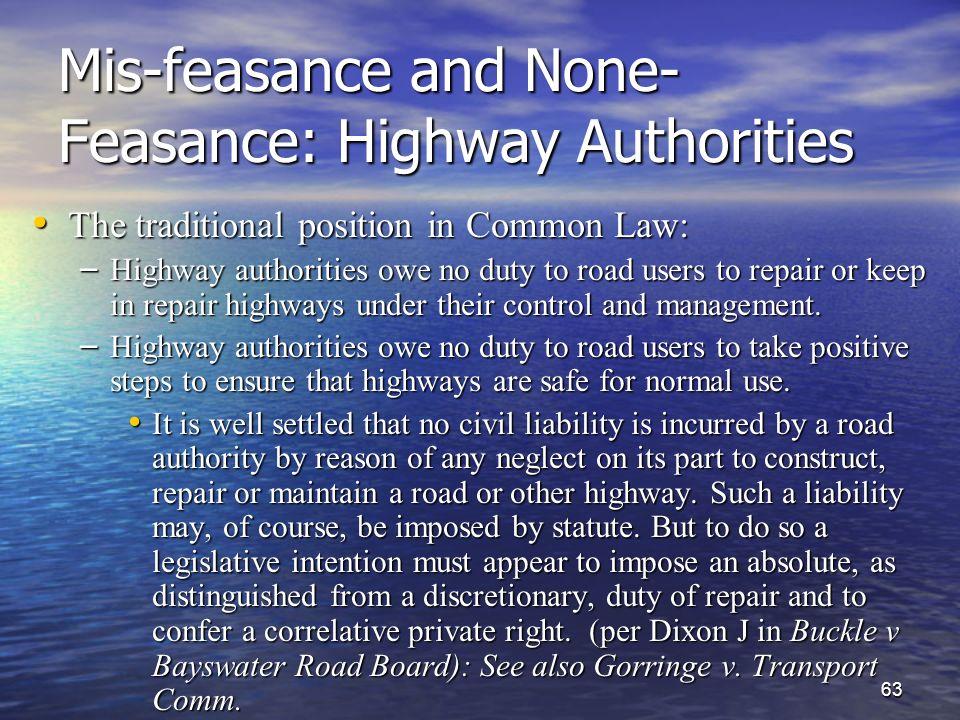 define feasance