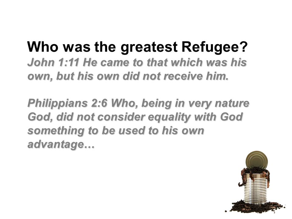 Who was the greatest Refugee.