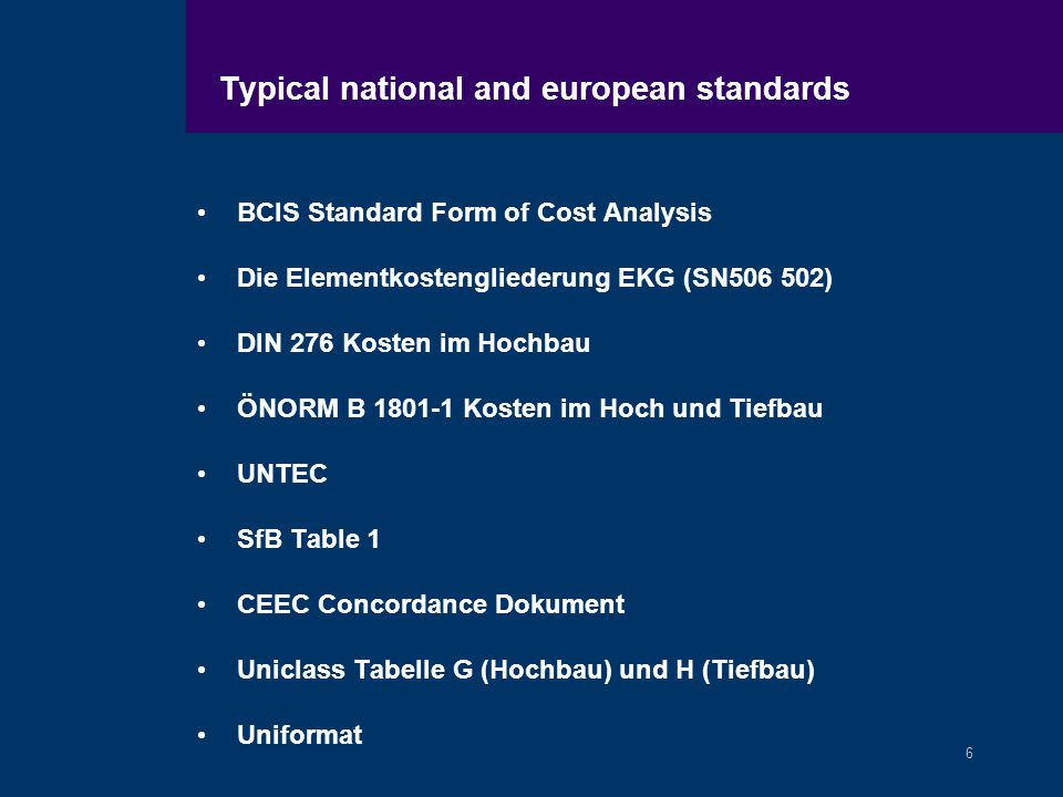 1 Comit Europen Des Economistes De La Construction European