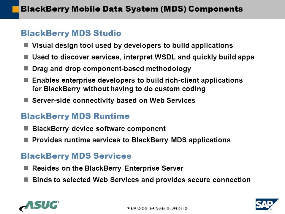 Designing Mobile BI Reports for BlackBerry Users  - ppt download