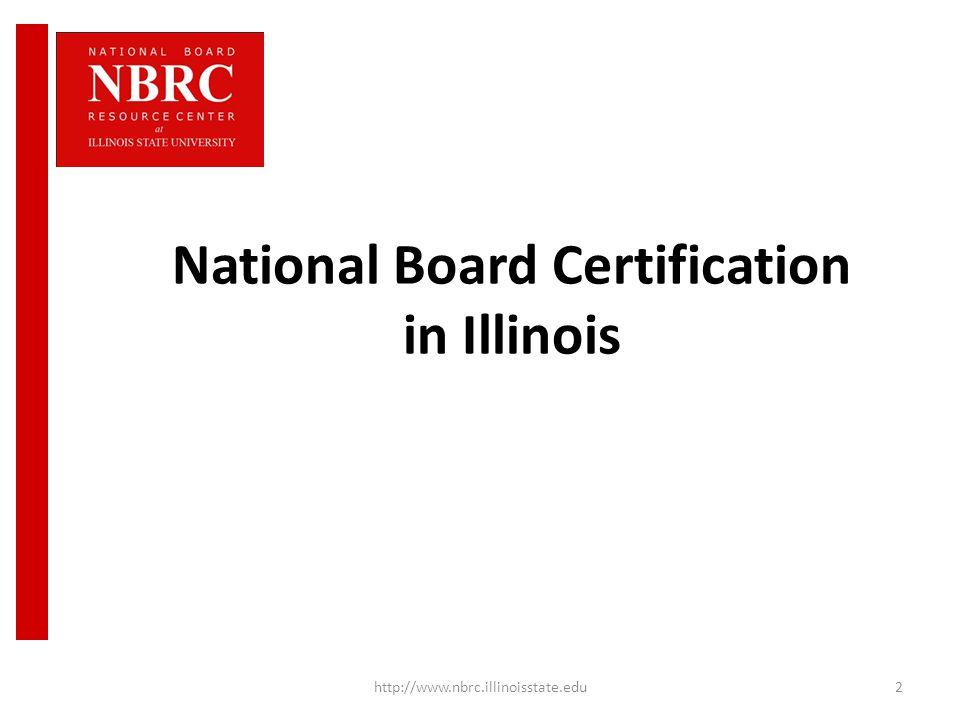 Awareness National Board Certification Illinois Nbpts Comprehensive