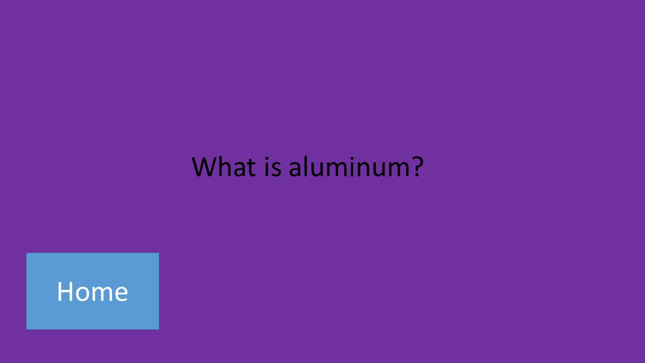 Home What is aluminum