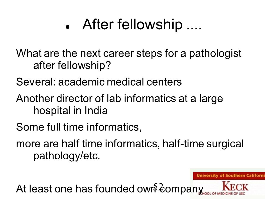 Pathology Fellowship India
