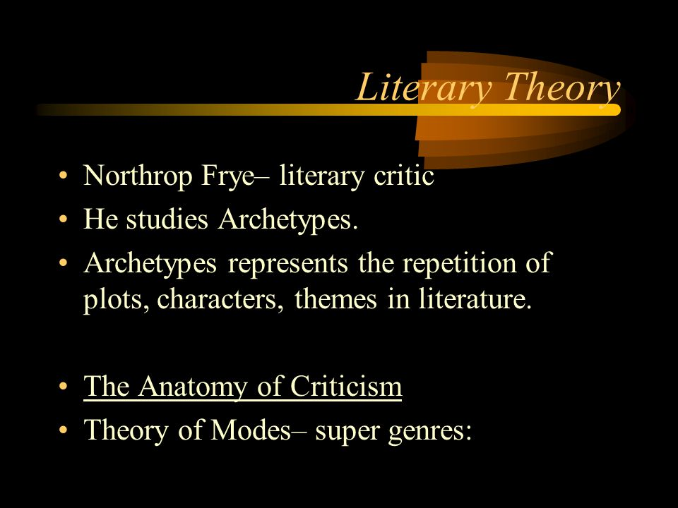 literary teory Literary theory: what is it students encountering recent literary criticism for the first time often find the concepts to be alien and the vocabulary, confusing articles in the venerable mla international.