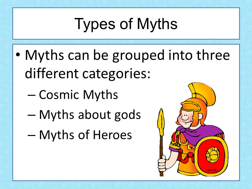 types of heroes in mythology