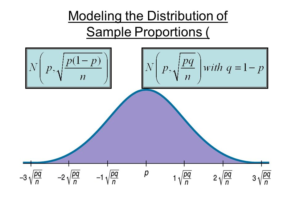 Modeling the Distribution of Sample Proportions (