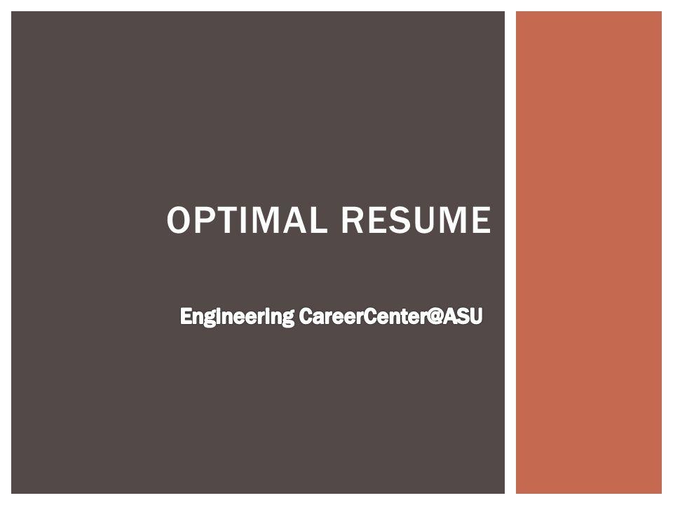 optimal resume goto myasu campus services tab sundevil