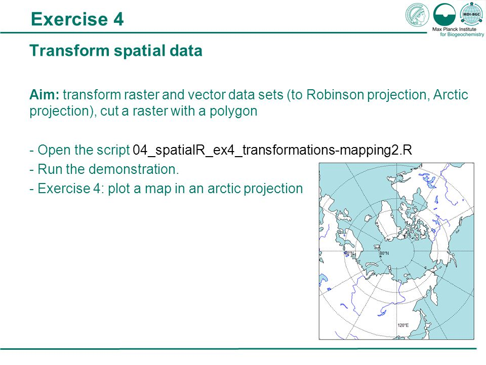 As GIS Analysis of spatial data in R IMPRS Modular R course