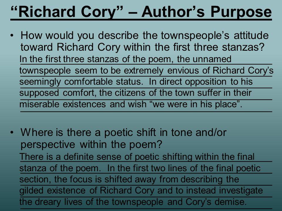 richard cory poem meaning