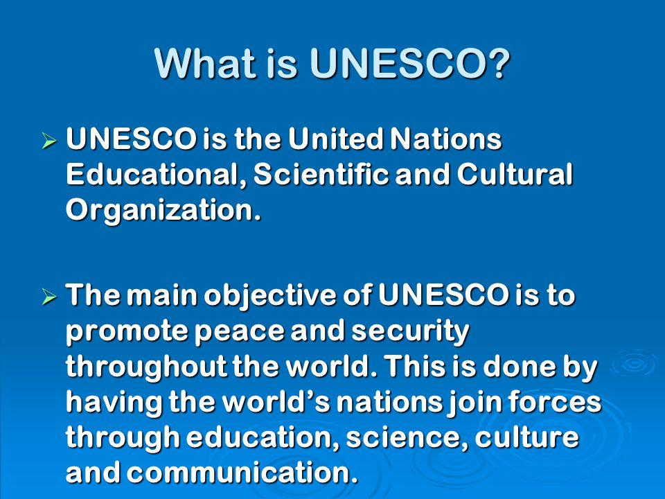 UNESCO sites in Ireland By Orla O Halloran  What is UNESCO