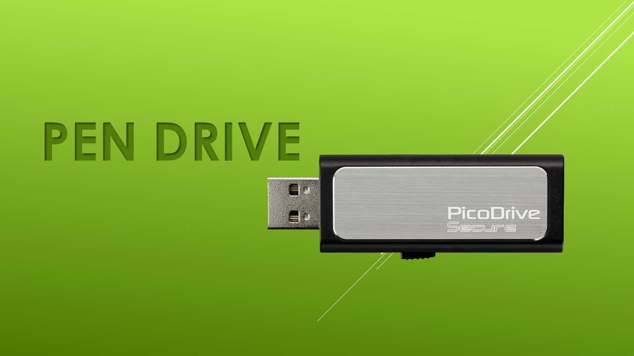 definition of a pen drive a usb drive is a data storage device that