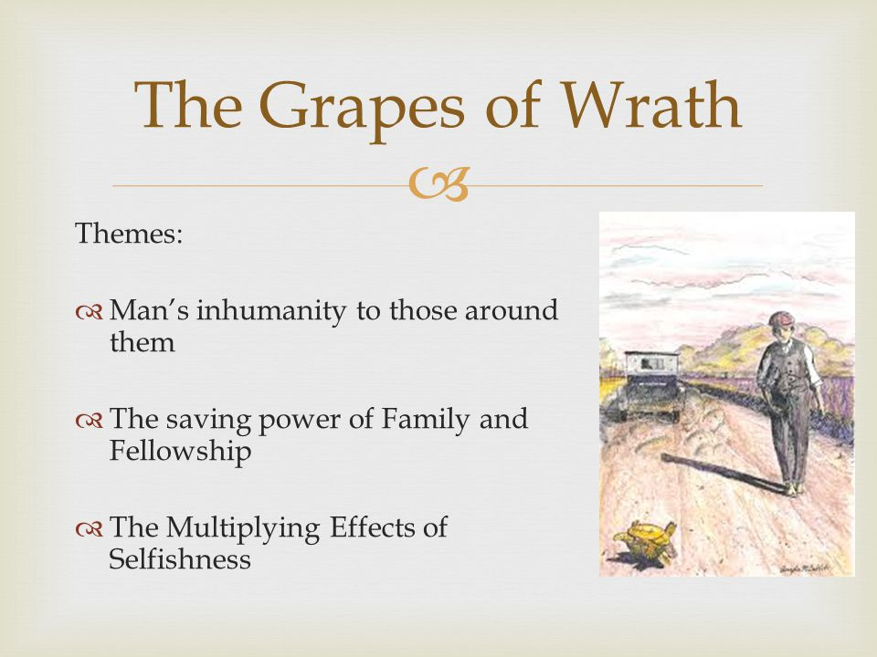 grapes of wrath themes