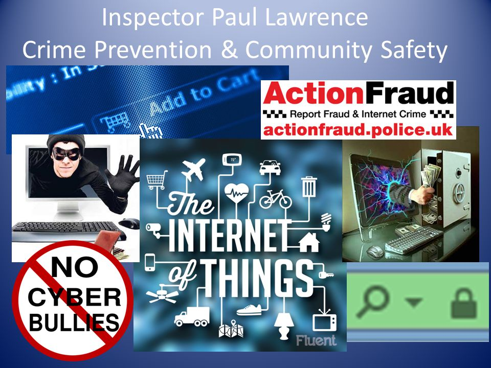 Inspector Paul Lawrence Crime Prevention & Community Safety