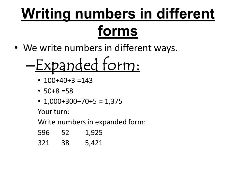 when do i write out numbers in an essay Do you spell out numbers in an essay when using numbers in and reports, it is important to decide whether to you should use numerals if the number modifies a unit of measurement, time or if a sentence begins with a year, write the year before writing out the year in if you are comparing numbers, or describing series of number, spell them spell.