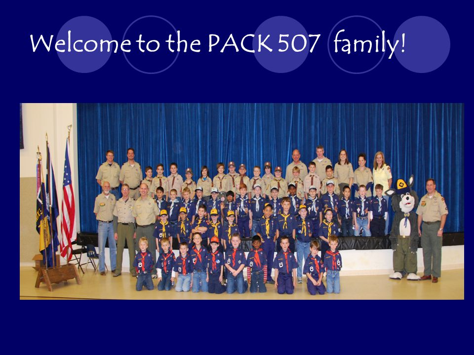 Welcome to the PACK 507 family!