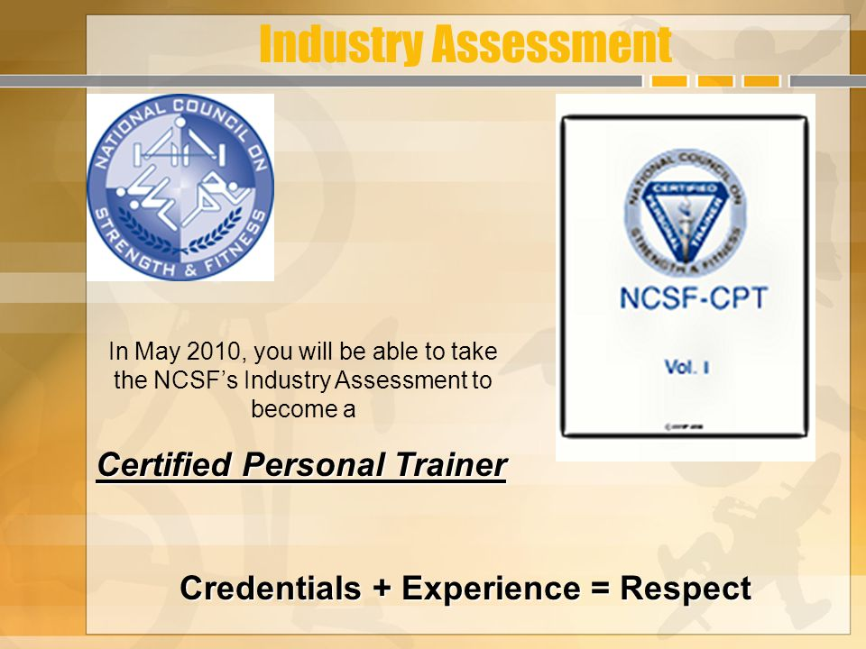 Certified Personal Trainer Hb Ward Technical And Academic Center Rod