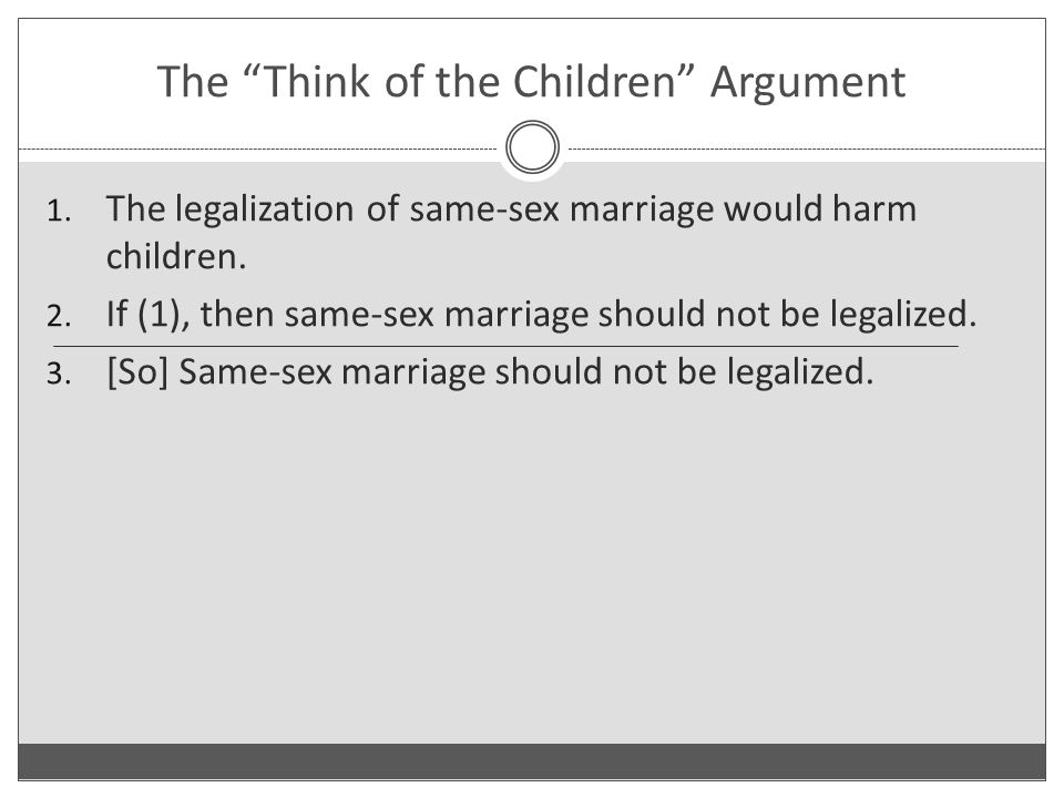Arguments for same sex marriage photos 3
