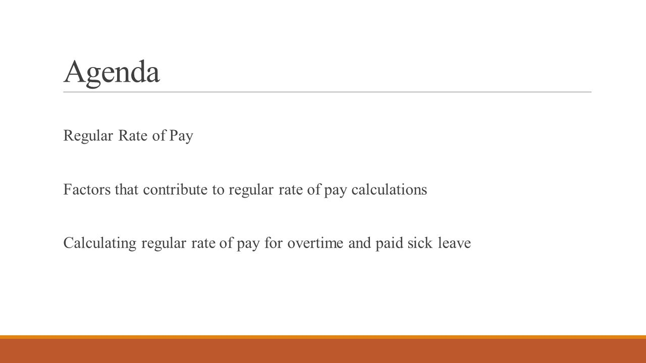compliance 911 guide to calculating the regular rate of pay