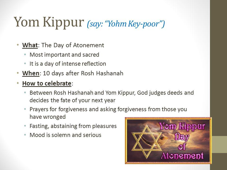 Jewish Holy Days Basics/Corrections  Overview of Holy Days