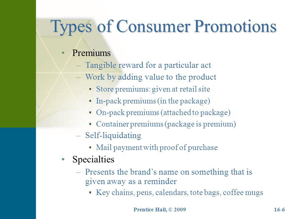 Self liquidating premium offers outstanding