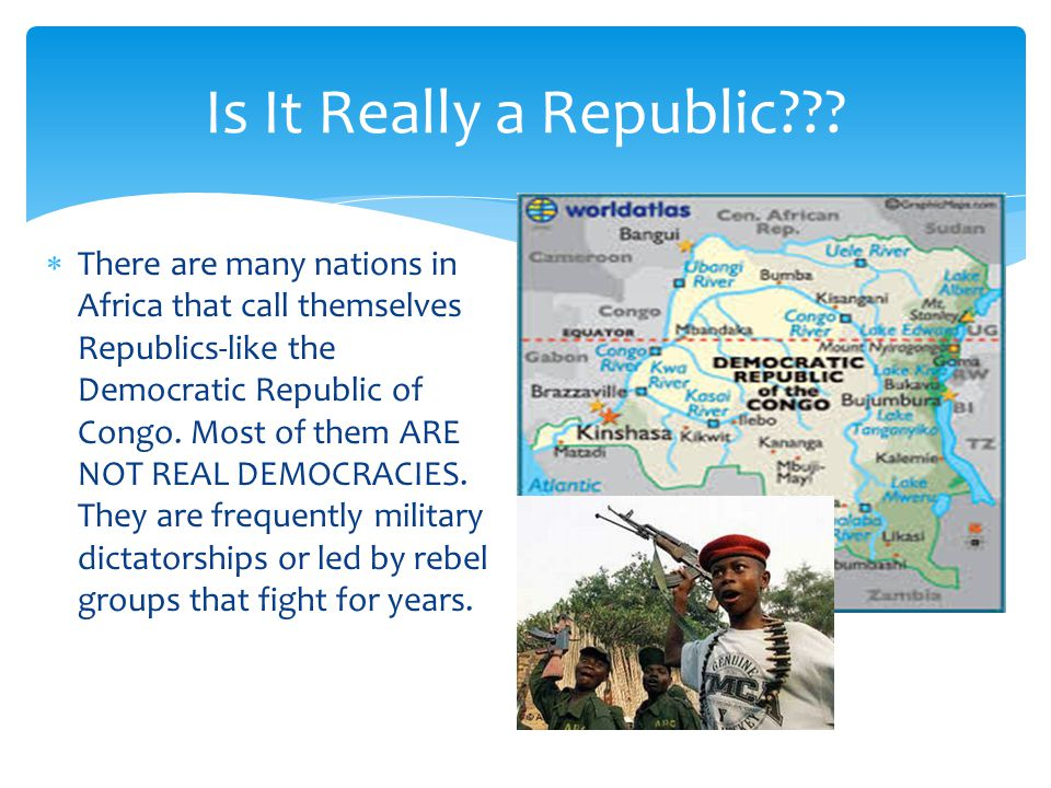 Is It Really a Republic .