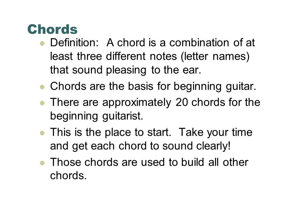 Beginning Guitar Class 1 Music 377 Guitar I Beginning Guitar And