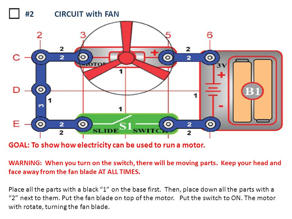 All Snap Circuit Instructions Wiring Diagram For Light Switch